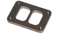 T4 Divided Inlet Flange 1/2 Inch Thick (STAINLESS)