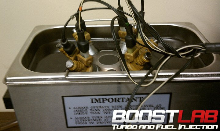 Side Feed Complete Fuel Injector Cleaning and Flow Testing - Boost