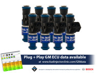 FIC 1650cc Injectors for LS2