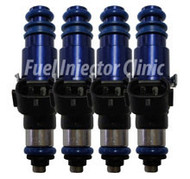 Fuel Injector Clinic 2150cc Mitsubishi BlueMAX EVO 8/9 BlueMAX Injector Set (High-Z)
