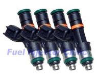 Fuel Injector Clinic 650cc Subaru ('04-'06) STi FIC Rail* Injector set (High-Z)