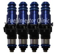 Fuel Injector Clinic 2150cc Subaru ('04-'06) STi FIC Rail* BlueMAX Injector set (High-Z)