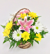 Spring assortment basket  small