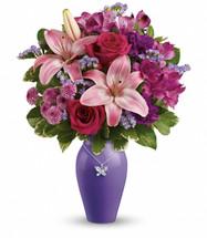 Teleflora's Beautiful Butterfly Bouquet