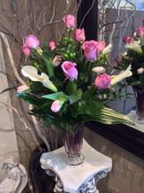 Lavender Elegance Vase