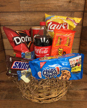"Large ""junk food"" Basket"