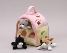 """10"""" Cat Finger Puppet House"""