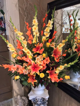 Autumn Grandeur Celebration of Life Arrangement