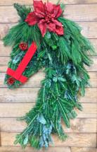 Fresh Evergreen Horse Wreath