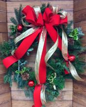 Classic Christmas Fresh Wreath