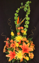Vivid Sunset Arrangement