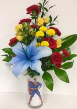 "Superhero"" Vase Arrangement"