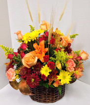 Autumns Favorites Flemish Basket