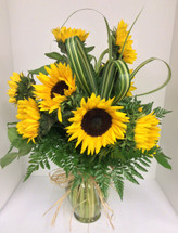 Sunflower Garden Vase