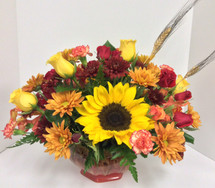 Sunflower Harvest Centerpiece
