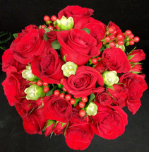 Hearts Afire Bridal Bouquet