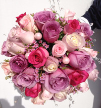 Roses and Jewels Bridal Bouquet