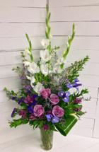 Lavender Fields Garden Vase