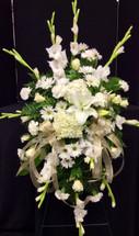 Gladiola and Hydrangea Garden Easel