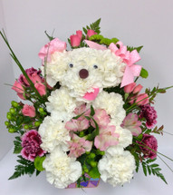 Pretty Pink Poodle Arrangement