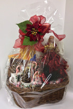 Gourmet Chocolates and Candies Gift Basket with Angel