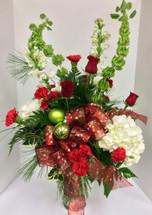 Winter Sparkle Vase