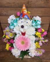 Happy Doggone Birthday Basket