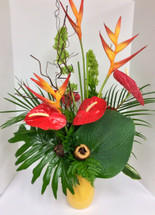 Tropical Punch mixed vase