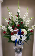 Celebration of Life Arrangement for the Football Fan