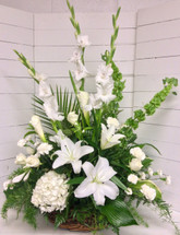 Peace and Serenity Stylish Garden Basket Arrangement