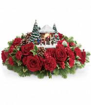 Thomas Kinkade's Visiting Santa Bouquet