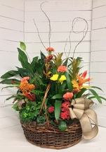 Big Autumn Planter Basket