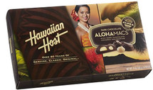 AlohaMacs  - Dark Chocolate  Covered Macadamia Nuts