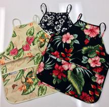 Select Hawaiian Floral Aprons