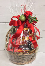 Holly Jolly Gourmet and Candy Basket