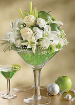 Yummy Apple Martini Arrangement