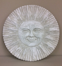 """Beautiful Sun"" Concrete Plaque"
