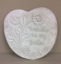 """Welcome to my Garden"" Stone"