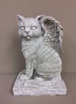 """Winged Angel Cat"" Statue"
