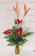 """Tropical Treat"" Exotic Arrangement"