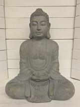 "24"" Sitting Buddha Garden Statue - Resin"