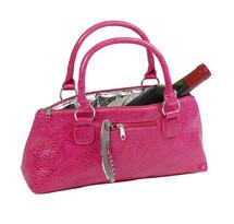 Wine Clutch - Pink Serpentes