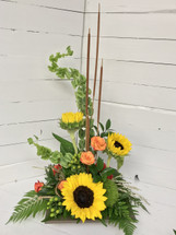 Contemporary Autumn Arrangement