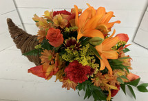 Gorgeous Autumn Cornucopia