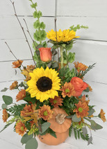 """Pretty Lil Punkin"" Fresh Arrangement"