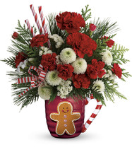 Send A Hug Winter Sips Bouquet by Teleflora