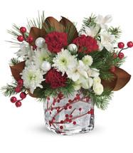 Teleflora's Wondrous Winterberry Bouquet