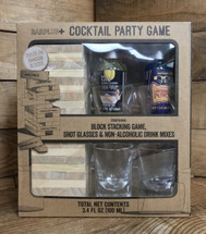 Block Stacking Cocktail Party Game