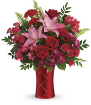 Teleflora's Satin Kisses Bouquet