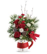 Send a Hug Festive Friend Bouquet by Teleflora